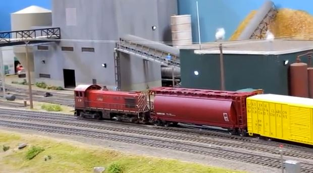 Amherst Model Hobby Train Show