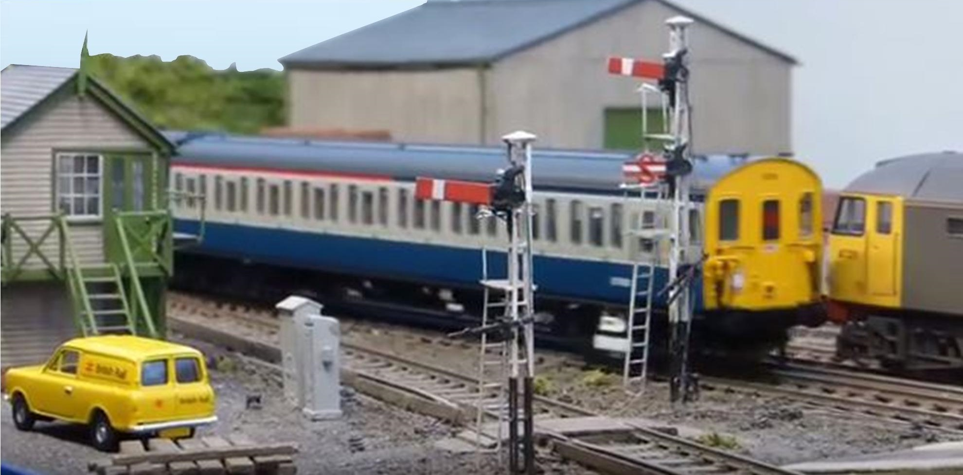 railway scenery for scale model trains