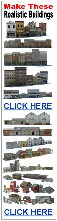 scale models of railway buildings
