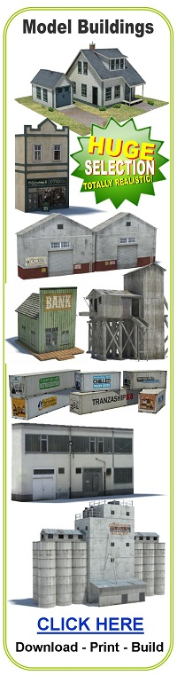 scale model structures buildings