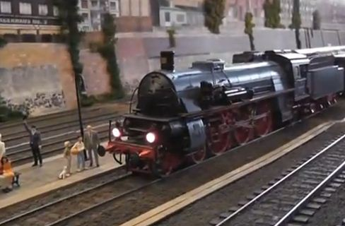 ho scale steam locomotive